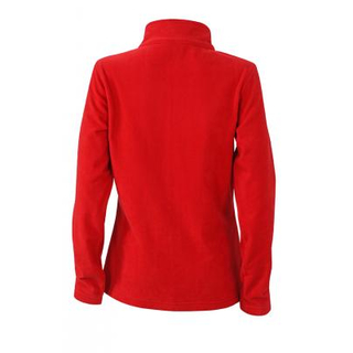 Ladies´ Basic Fleece Jacket red S