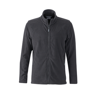 Men´s Basic Fleece Jacket black XL