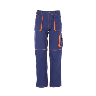 Bundhose Basalt Neon marine/orange 54