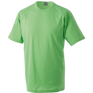 Round-T-Heavy lime-green M