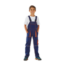 Latzhose Junior Basalt marine-orange