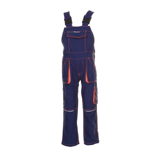 Latzhose Junior Basalt marine-orange 98/104
